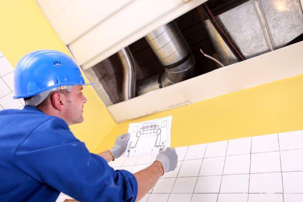 услуги монтаж и обслуживание систем вентиляции в Москве